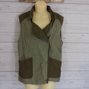 Wilfred Jackets & Coats - Wilfred Free Aritzia LINN Cargo Army Vest  Sz S